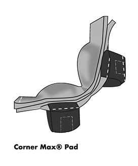 corner max pad