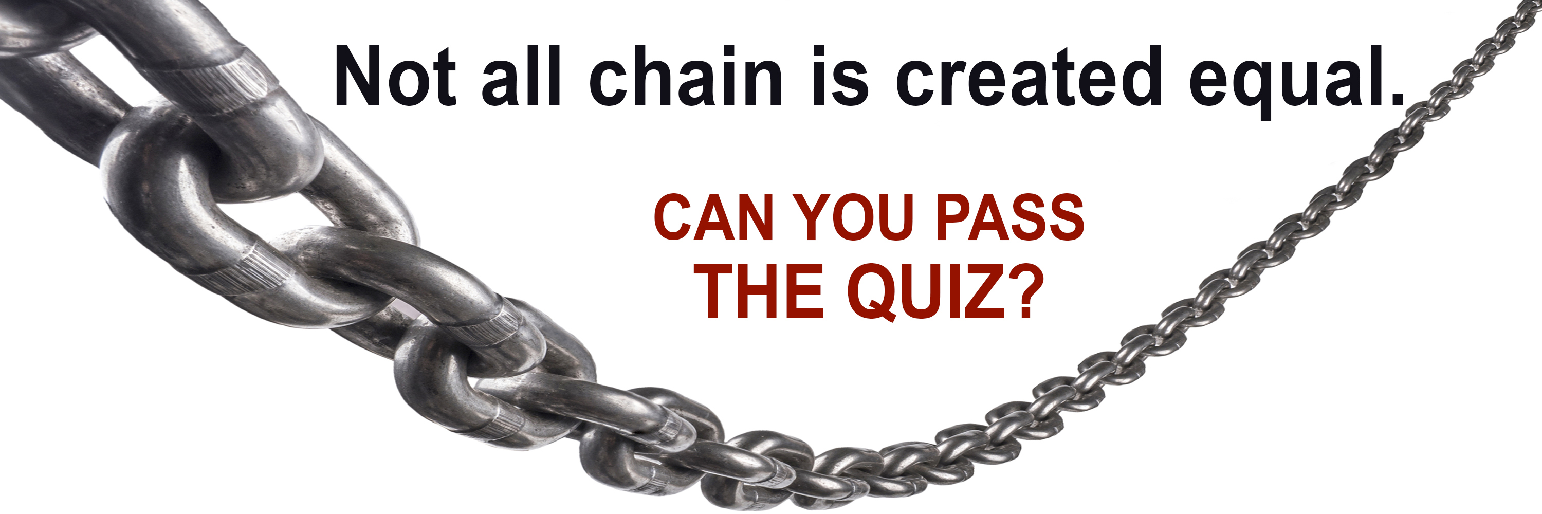 Chain Quiz Header