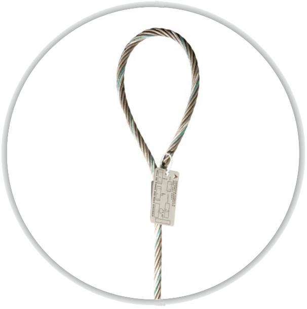 Wire Rope Sling Header