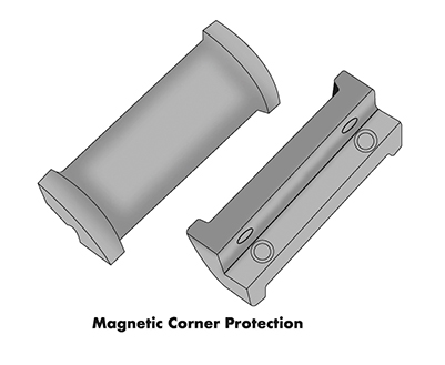 Magnetic Corner Protection